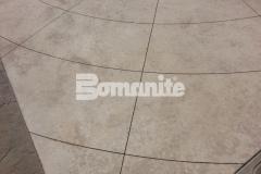 Bomanite Exposed Aggregate Systems using Bomanite Alloy Antico creates beautiful decorative concrete.