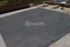 Bomanite Alloy Exposed Aggregate was installed here to create a hardscape plaza that adds a unique artistic expression to the space and perfectly portrays the beautiful nature and high quality of Bomanite decorative concrete.