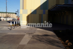 Our colleague Bomanite of Tulsa, Inc. was awarded the 2019 Honorable Mention Award for Best Bomanite Exposed Aggregate Project Over 6,000 SF for their craftsmanship and skillful installation of Bomanite Sandscape Texture to create the decorative concrete walkways and front entrance to the Tulsa County Family Center for Juvenile Justice, meeting the design intent of the architect and creating an inviting and insightful exterior space.