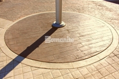 Our colleague Texas Bomanite was called in to install over 145,000 SF of architectural concrete at the Tanger Outlets Fort Worth and incorporated four different Bomanite Bomacron patterns into the outdoor walkways, adding unique interest and ambiance throughout the hardscape surfaces.